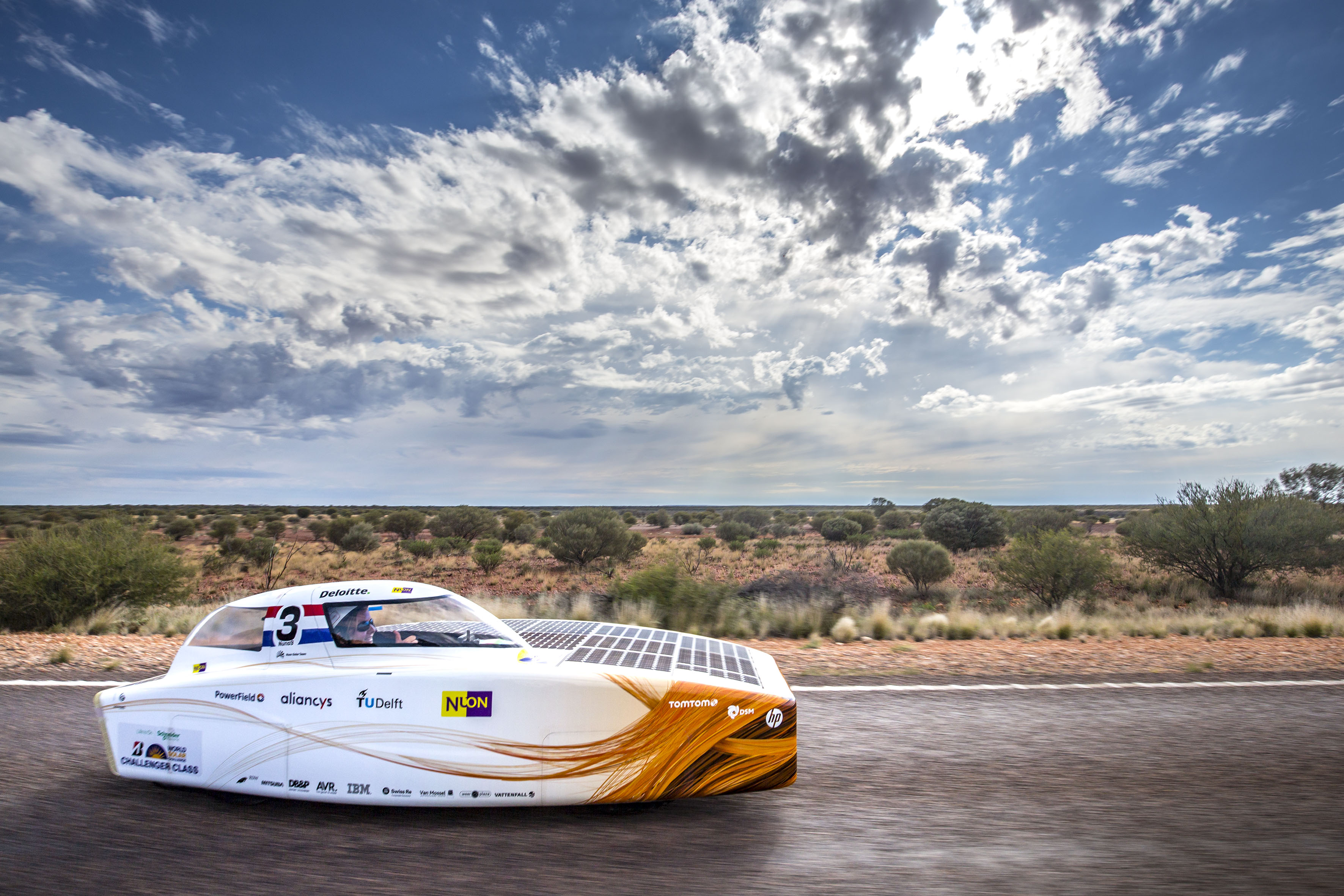 Nuon Solar Team Once More World Champion Solar Car Racing