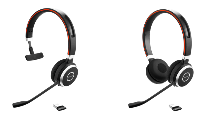 Jabra Evolve 65 Ms Duo Mono