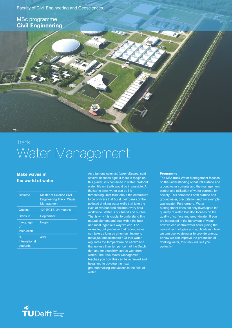 Track: Water Management